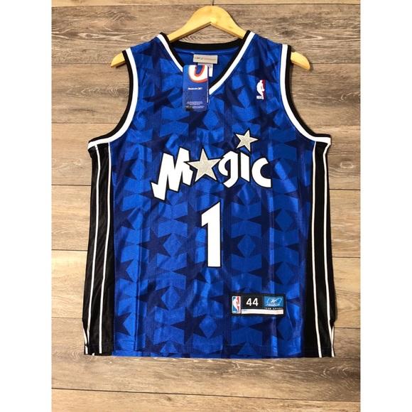1af68d67e Tracy Mcgrady Retro Orlando Magic Reebok Jersey 44